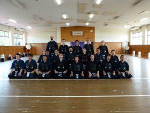 NL's heren-damesteam op Tsukuba university, 2015