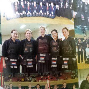 NL's damesteam 2015 in Japans tijdschrift over het WK in Tokyo