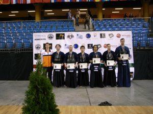 3e plaats NL's herenteam op EK in Hongarije, 2010