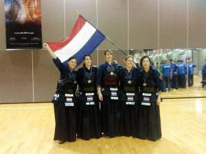NL's damesteam 2e plaats op EK in Berlijn, 2013