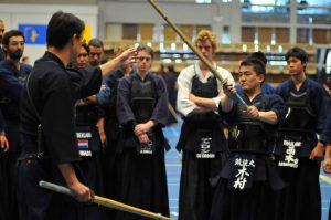 Uitleg Nabeyama sensei op zomer seminar 2013