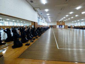 Training op Tsukuba university, ter voorbereiding op het WK in Japan, 2015
