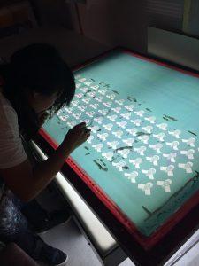 Club tenugui drukken voor het 35-jarige bestaan van Fumetsu
