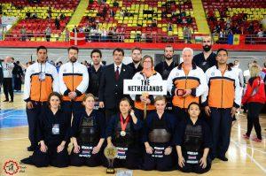 NL'se heren-damesteam op Europese Kampioenschappen in Macedonië, 2016
